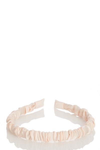 Pink Ruched Headband