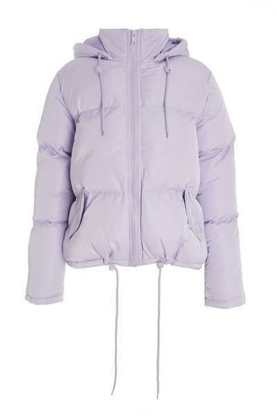 Lilac Puffer Jacket