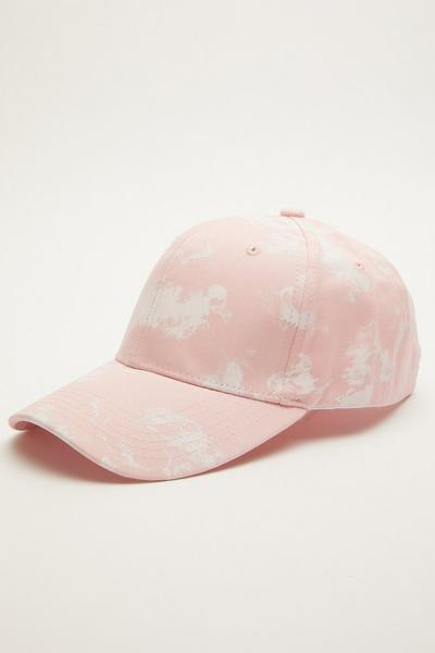 Pink Tie Dye Cap