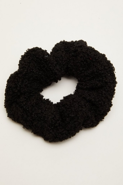 Black Teddy Scrunchie