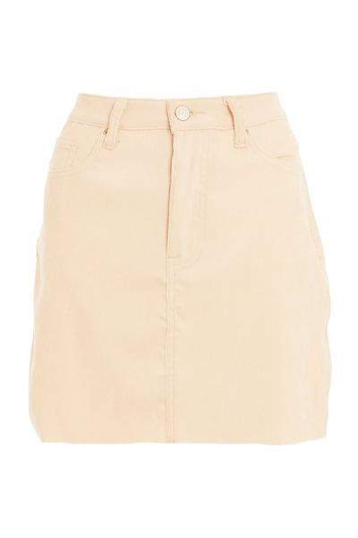 Stone Cord Mini Skirt