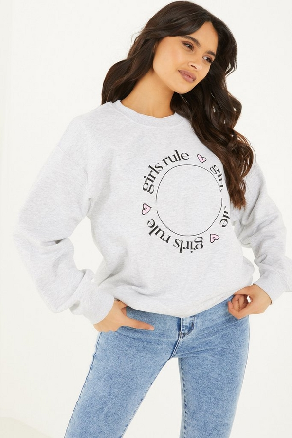 Charity Girls Rule Sweatshirt