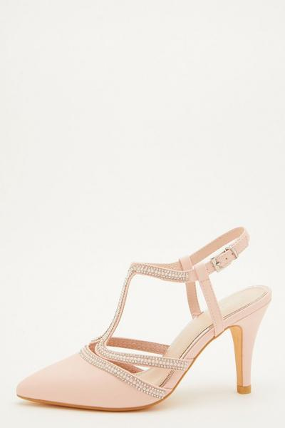 Pink Pearl T-Bar Courts