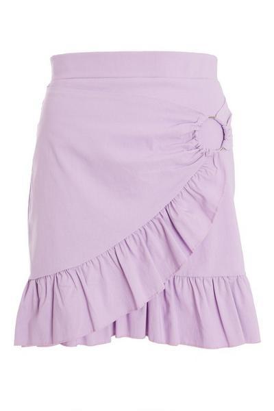 Lilac Frill Skirt