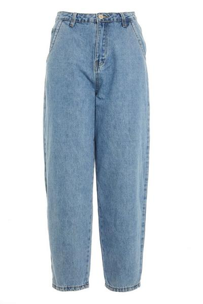 Blue Denim Mom Jeans