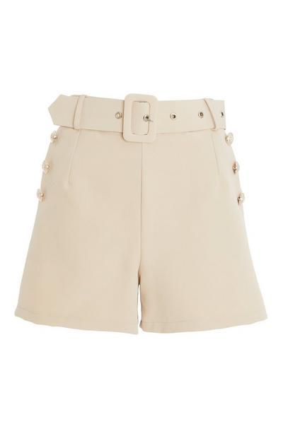 Stone High Waist Shorts