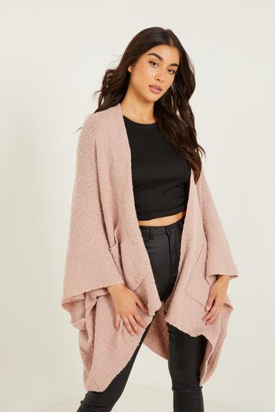 Pink Cape with Pockets