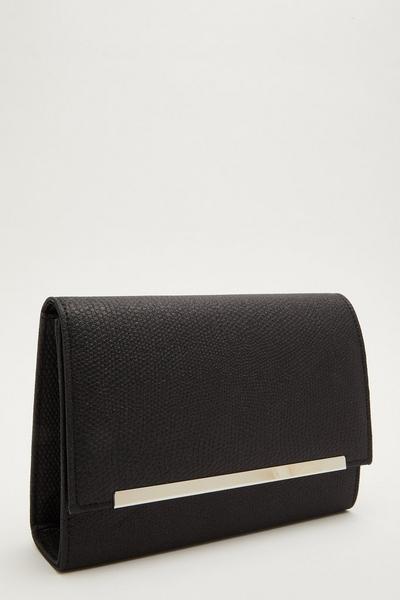 Black Shimmer Cross Body Bag