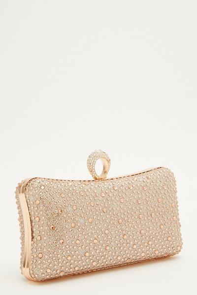 Rose Gold Ring Box Bag