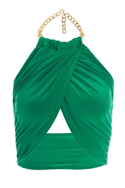 Green Chain Wrap Over Top