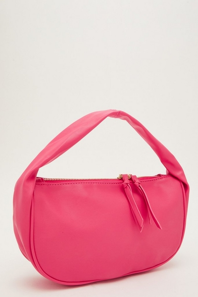 Pink Slouch Handle Bag