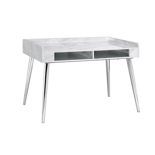 Milka Desk in White Marble