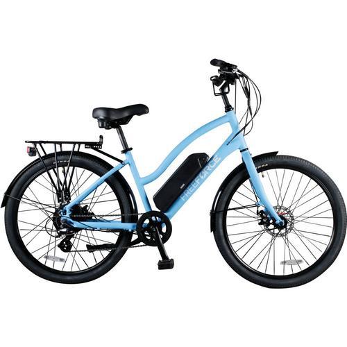 Beach Cruiser e-Bike - Light Blue