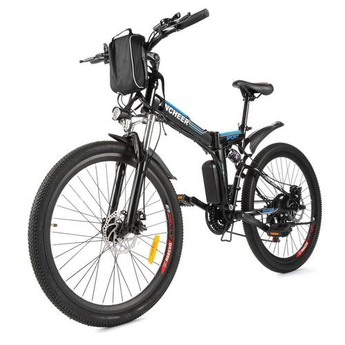 "26"" Electric Folding Bike"