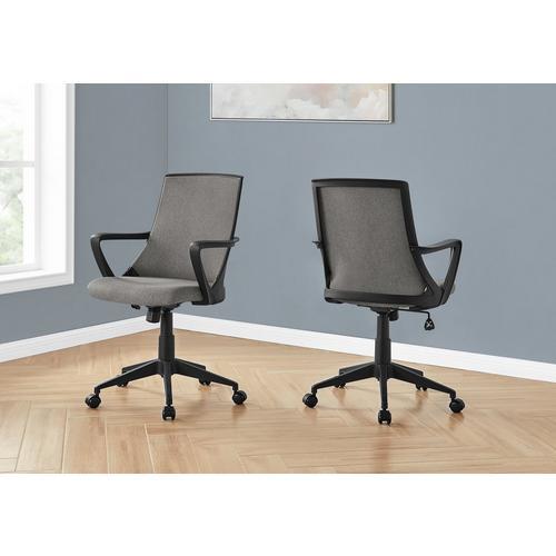 Office Chair - Black & Dark Grey