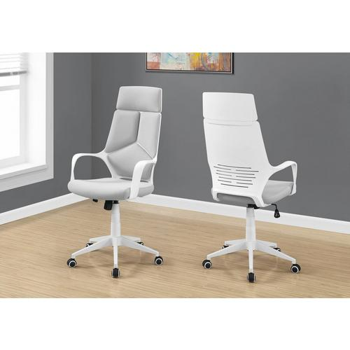 Office Chair - White & Grey