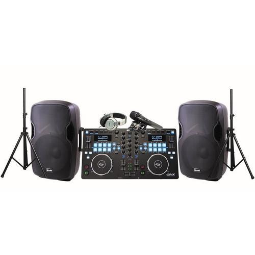Professional DJ System with Midi