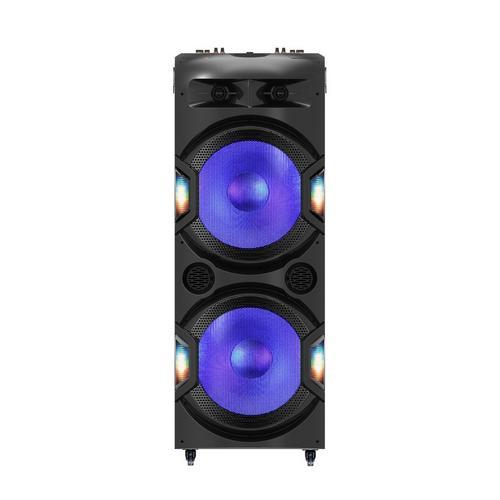 """Party System 6000W Dual 15"""" Wireless Light Show"""