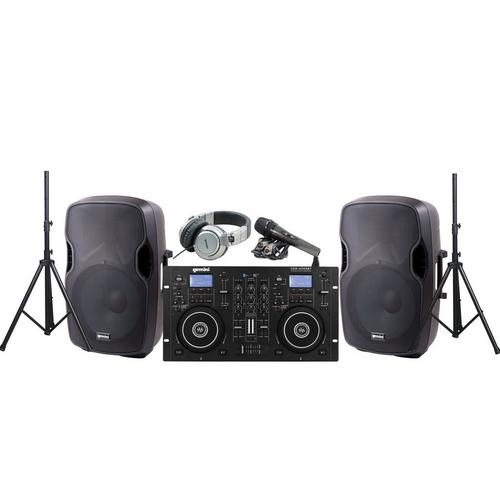 Professional DJ System with CD/USB