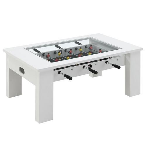 "45"" Foosball Gaming Table - White"