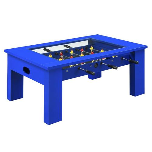 "45"" Foosball Gaming Table - Blue"