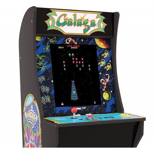 Galaga Arcade Game with Riser