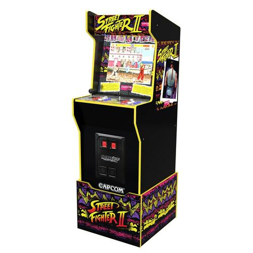 Streetfighter Arcade Game with Riser