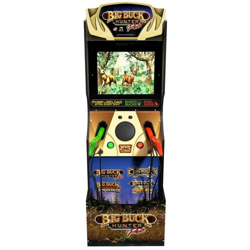 Buck Hunter Arcade Game with Riser