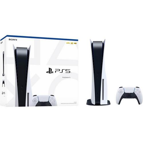 PlayStation 5 Gaming System w/ 825GB - White