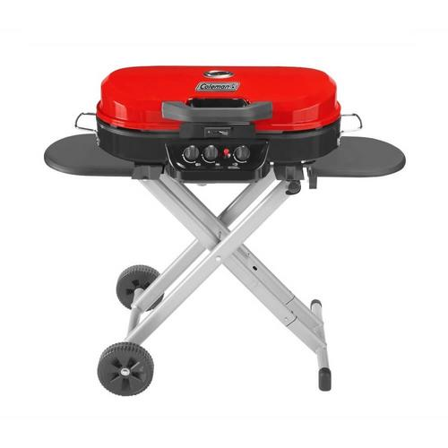 Coleman  Stand Up Grill - Red