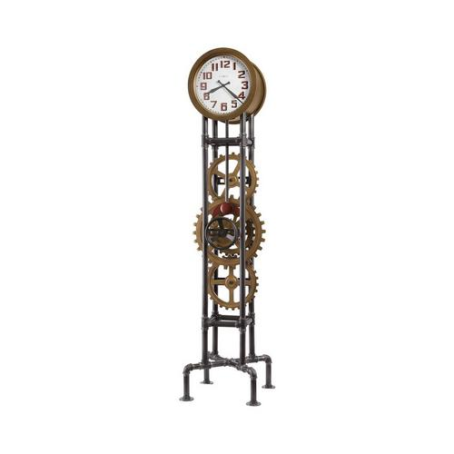 Cogwheel Floor Clock
