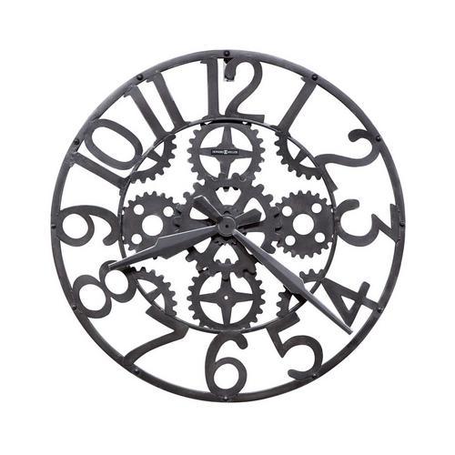 Iron Works Wall Clock