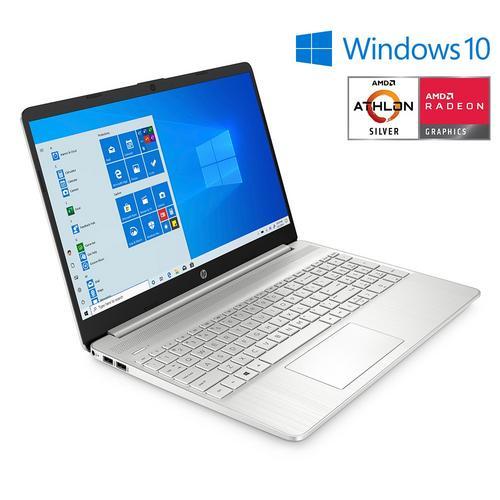 """15"""" Laptop 4 GB w/ 128SDD - Athlon Silver"""