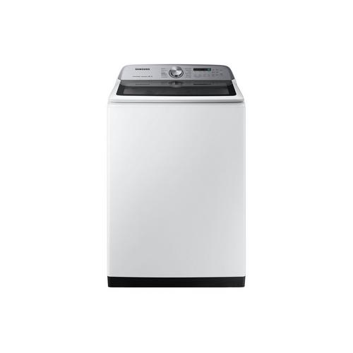 5.0 Cu. Ft. Top Load Washer - White