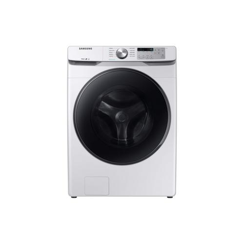 4.5 Cu. Ft. Steam Front Load Washer Only - White
