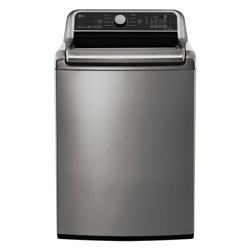 5.0 Cu. Ft. Energy Star Top Load Washer Only - Graphite Steel