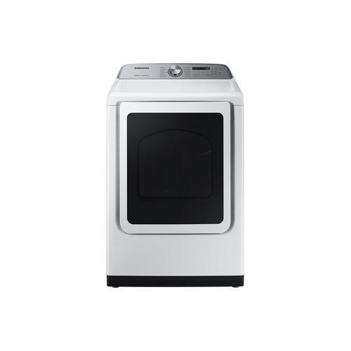 7.4 Cu. Ft. Gas Steam Dryer - White