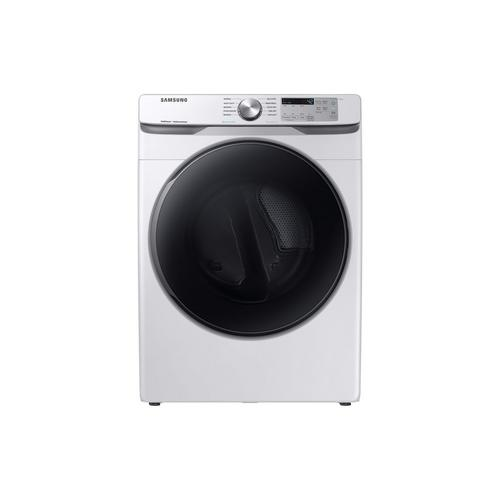 7.5 Cu. Ft. Steam Front Load Gas Dryer Only - White
