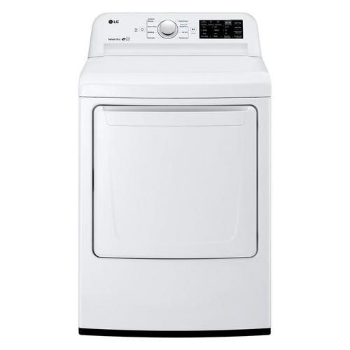 7.3 Cu. Ft. Electric Dryer Only - White
