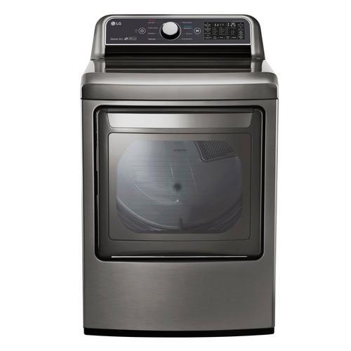 7.3 Cu. Ft. Gas Dryer Only - Graphite Steel