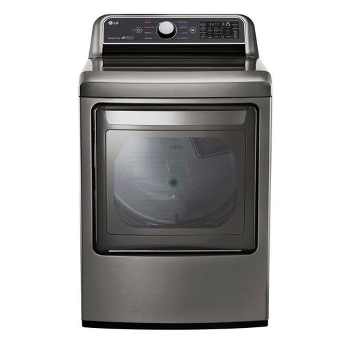 7.3 Cu. Ft. Electric Dryer Only - Graphite Steel
