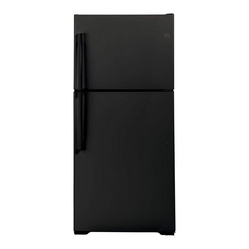 21.9 cu. ft. Top Mount Refrigerator - Black