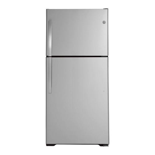 21.9 cu. ft. Top Mount Refrigerator - Stainless Steel