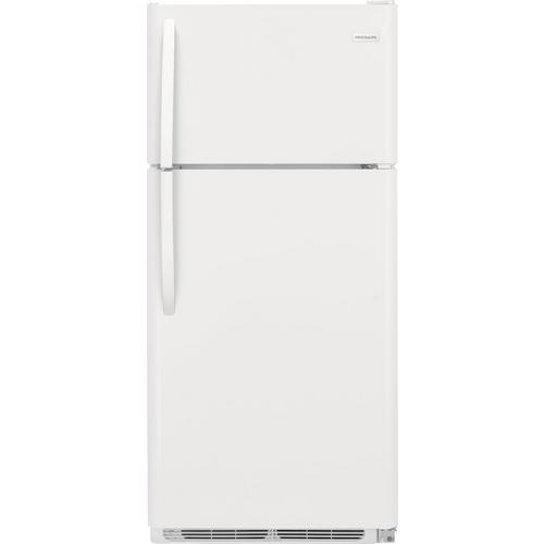 18 cu. ft. Top Mount Refrigerator- White