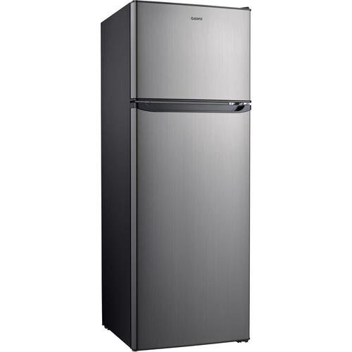 12 Cu. Ft. Top Mount Refrigerator - Stainless Steel