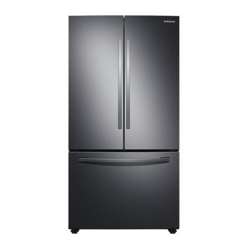 28.2 cu. ft. Energy Star French Door Refrigerator - Fingerprint Resistant Black Stainless