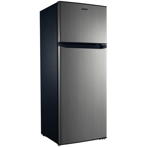 7.6 Cu. Ft. Top  Mount Refrigerator - Stainless Steel