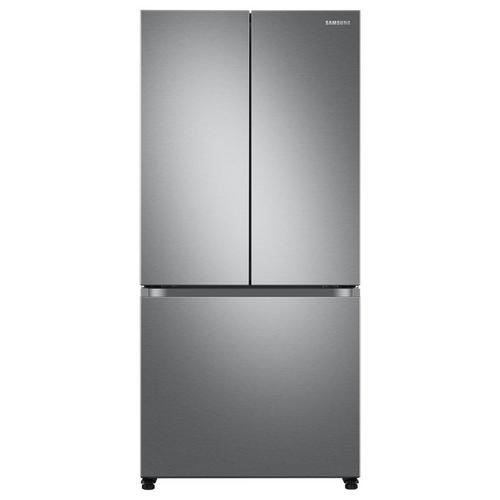 18 cu. ft. Energy Star Counter-Depth Refrigerator - Stainless Steal