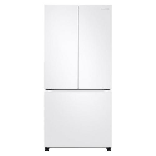 20 Cu. Ft. Energy Star French Door with Ice Maker- White