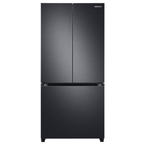 20 Cu. Ft. Energy Star French Door Refrigerator with Ice Maker - Black